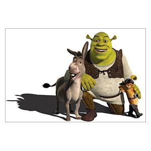 Shrek. Размер: 40 х 30 см